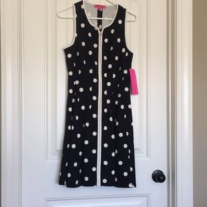 Betsey Johnson Black Polka Dot Dress